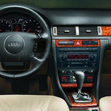 Incar (Intro) Переходная рамка Audi A6 02+, Allroad 2/1DIN (широкая) Intro RAU6-02 (фото, вид 1)