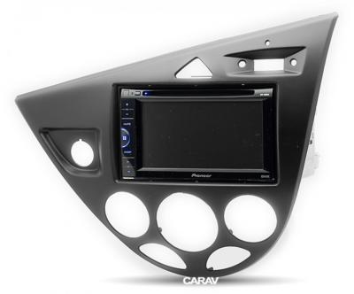 Carav Carav 11-548 | 2DIN переходная рамка Ford Focus 1998-2004 (левый руль) (фото, вид 1)
