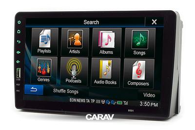 "Carav Carav 22-046   9"" переходная рамка Ford Focus II, C-Max 05-11, S-Max, Fusion, Transit 06-10 (фото, вид 2)"