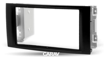 Carav Carav 08-008 | 2DIN переходная рамка Volkswagen Touareg 2002-2010, T5 (Transporter,Caravelle,Multivan) 2003-2009 (фото, вид 5)