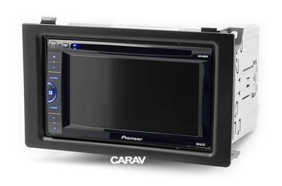 Carav Carav 11-093   2DIN переходная рамка Saab (9.3) 2007-2011 (фото, вид 2)