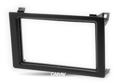 Carav Carav 11-093   2DIN переходная рамка Saab (9.3) 2007-2011 (фото, вид 4)