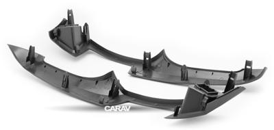 Carav Carav 11-100   2DIN переходная рамка Toyota Yaris, Vitz, Platz 2005-2010 (серебро) (фото, вид 7)
