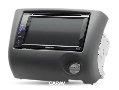 Carav Carav 11-193 | 2DIN переходная рамка Toyota Yaris, Echo, 1999-2005 (руль слева) (фото, вид 3)