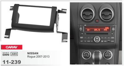 Carav Рамка NISSAN Rogue 2007-2013 (CARAV 11-239) (фото, вид 3)