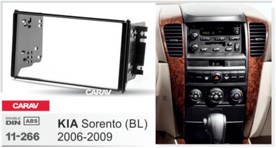 Carav Переходная рамка Kia Sorento (BL) 06-09 (CARAV 11-266) (фото, вид 4)