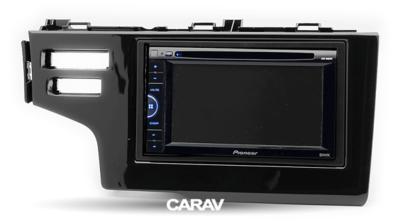 Carav Рамка HONDA Fit, Jazz 2013+ (только для а/м с сигнальной лампы Air-Bag / руль слева) (CARAV 11-325) (фото, вид 2)
