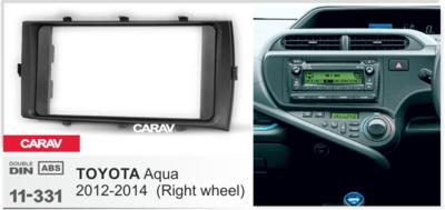 Carav Рамка TOYOTA Aqua 2012-2014 (руль справа) (CARAV 11-331) (фото, вид 1)