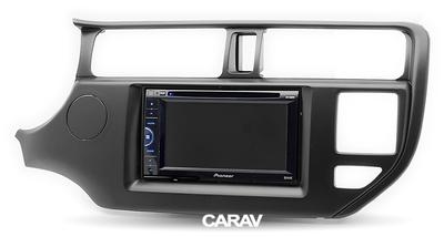 Carav Рамка KIA Rio (UB), K3, Pride 2011-2015 (руль слева / c лампой Airbag / модель для рынка Азии) (CARAV 11-422) (фото, вид 4)