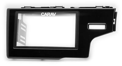 Carav Рамка HONDA Fit, Jazz 2013+ (только для а/м без сигнальной лампы Air-Bag / руль справа) (CARAV 11-508) (фото, вид 4)