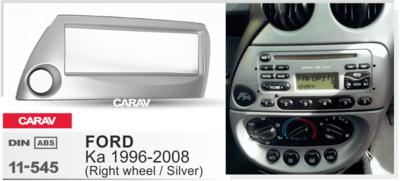 Carav Рамка FORD Ka 1996-2008 (руль справа) (CARAV 11-545) (фото, вид 1)
