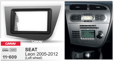 Carav Рамка SEAT Leon 2005-2012 (CARAV 11-609) (фото, вид 3)