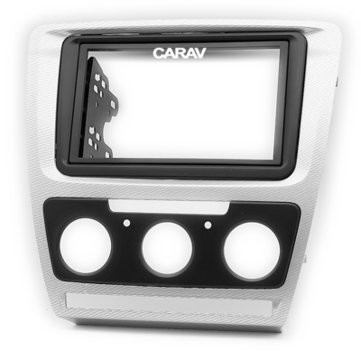 Carav Рамка SKODA Octavia 2008-2013 (без климат-контроля) (CARAV 11-692) (фото, вид 6)