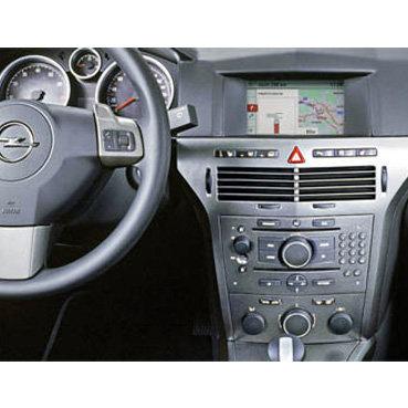 Incar (Intro) Переходная рамка Opel Astra H 04-08 2DIN SILVER (крепеж) (Incar ROP-N17) (фото, вид 2)