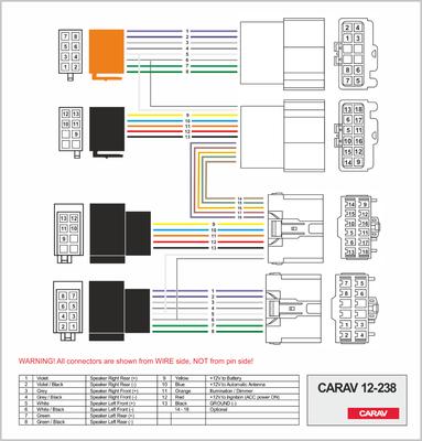 Carav ISO-переходник VOLVO 1998+ (выборочн. модели) (CARAV 12-238) (фото, вид 1)