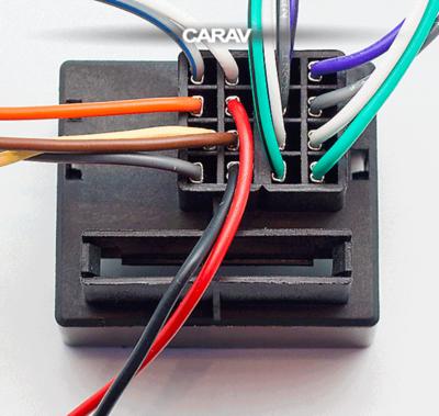 Carav ISO-переходник RENAULT 2009+ (выборочн. модели, только для а/м с разъемом Quadlock) (CARAV 12-227) (фото, вид 3)