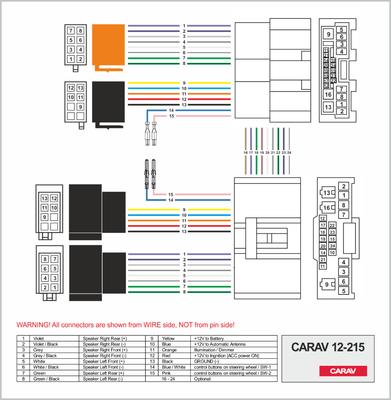 Carav ISO-переходник MAZDA 2001+ (выборочн. модели) (CARAV 12-215) (фото, вид 1)