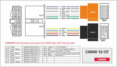Carav ISO-переходник DAEWOO Nexia, Espero 1995+ (CARAV 12-137) (фото, вид 3)