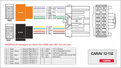 Carav ISO-переходник VOLVO 2002+ (выборочн. модели) (CARAV 12-132) (фото, вид 3)