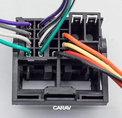 Carav ISO-переходник RENAULT 2009+ (выборочн. модели, только для а/м с разъемом Quadlock) (CARAV 12-127) (фото, вид 2)