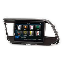 "Carav Carav 22-975   9"" переходная рамка Hyundai Elantra (AD), Avante (AD) 2018+. Вид 2"