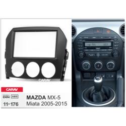 Carav Carav 11-176   2DIN переходная рамка Mazda MX-5, Miata 2005-2015. Вид 2