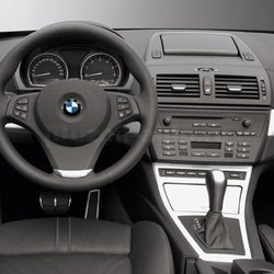 Incar (Intro) Переходная рамка BMW X3 (E83) 04+ 1DIN Incar RBW-X3. Вид 2
