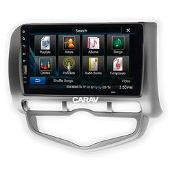 """Carav Carav 22-385   9"""" переходная рамка Honda Fit, Jazz 2002-2008 (руль слева, c климат-контролем). Вид 2"""