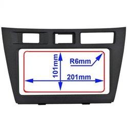 Incar (Intro) Переходная рамка Toyota Mark-2 (110) 201х101 (Incar RTY-N34R). Вид 2