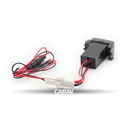 Carav USB разъем в штатную заглушку NISSAN (1 порт: цифровой вольтметр) (CARAV 17-306). Вид 2