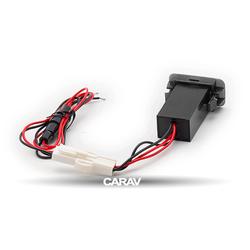 Carav USB разъем в штатную заглушку SUZUKI (2 порта: двойное зарядное устройство) (CARAV 17-208). Вид 2