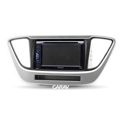 Incar (Intro) Комплект для установки 2DIN магнитолы на Hyundai Solaris 2017+. Вид 2