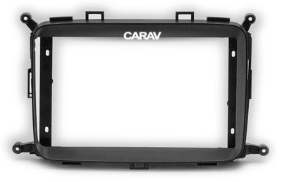 "Carav Carav 22-423   9"" переходная рамка KIA Carens 2013+, Rondo 2013+ (фото)"