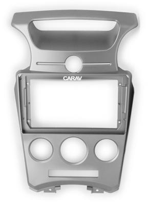 "Carav 22-1054   9"" переходная рамка KIA Carens 06-12, Rondo 07-12 (без климат-контроля) (фото)"