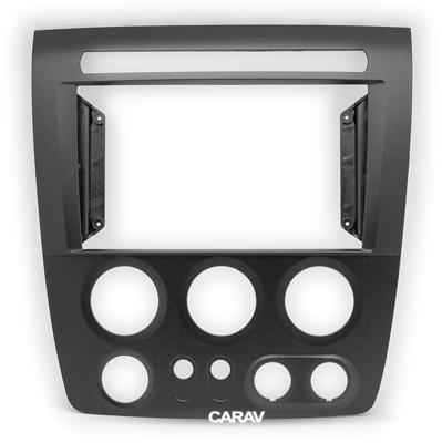 "Carav 22-1093   9"" переходная рамка HUMMER H3 2005-2010 (фото)"