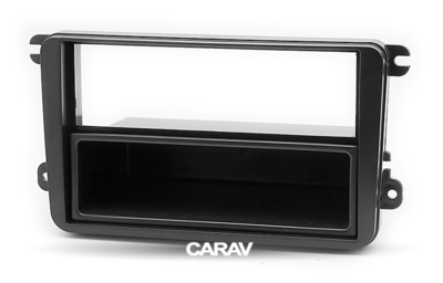 Carav Carav 11-782   1DIN переходная рамка Skoda Fabia 07+, Octavia 07+, SuperB 08+, Yeti 09+ (фото)