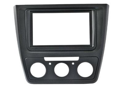 Incar (Intro) Переходная рамка Intro RSC-N11 для Skoda Yeti (Manual AC) 2din с кондиционером ручного управления (фото)