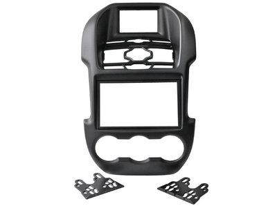 Incar (Intro) Переходная рамка INTRO RMZ-N27BL для Ford Ranger 2012+ BLACK 2 DIN (фото)