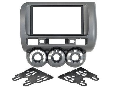 Incar (Intro) Переходная рамка Incar 95-7872A для Honda Fit 01-07 мех.печь / левый руль 2din (фото)