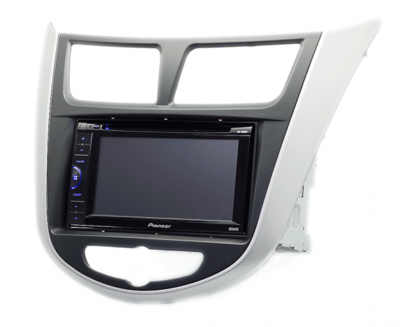 Carav Carav 11-105   2DIN переходная рамка Hyundai Solaris, i-25, Accent, Verna 2010-2017 (фото)