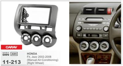 Carav Рамка HONDA Fit, Jazz 2002-2008 (без климат-контроля / руль справа) (CARAV 11-213) (фото)