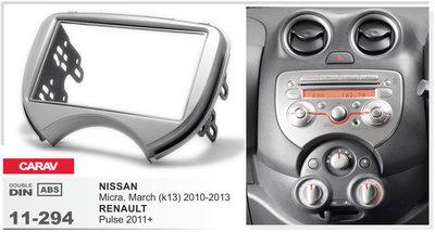 Carav Рамка NISSAN Micra, March (K13) 2010-2013 / RENAULT Pulse 2011+ (CARAV 11-294) (фото)