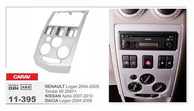 Carav Carav 11-395 | 2DIN переходная рамка Renault Logan 2004-2009,Tondar 90 2007+ Dacia Logan 2004-2008 (фото)