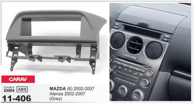 Carav Рамка MAZDA (6), Atenza 2002-2007 (установка вместо бардачка) (CARAV 11-406) (фото)