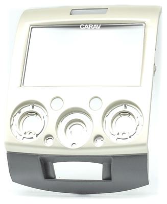 Carav Carav 11-417 | 2DIN переходная рамка Mazda BT-50 2006-2011, Ford Ranger 2006-2010, Everest 2006-2013 (фото)