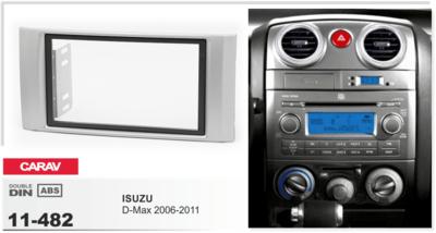 Carav Рамка ISUZU D-Max 2006-2011 (CARAV 11-482) (фото)