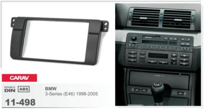 Carav Carav 11-498 | 2DIN переходная рамка BMW 3-Series (E46) 1998-2005 (фото)