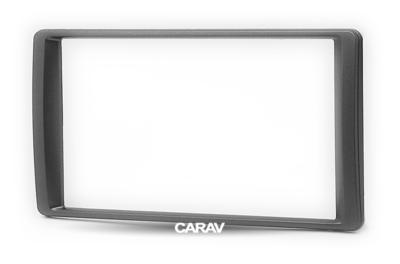 Carav Carav 11-694   2DIN переходная рамка UAZ Patriot 2014+ (фото)