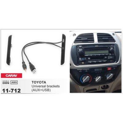 Carav Carav 11-712 | боковые вставки со встроенным USB + AUX для Toyota (фото)