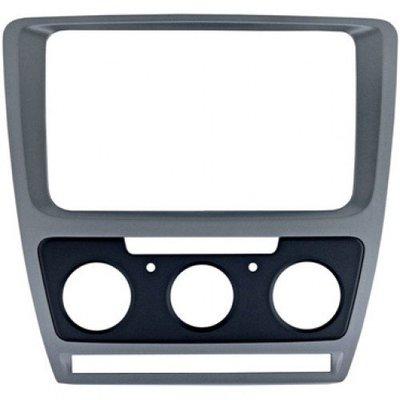 Incar (Intro) Рамка Skoda Octavia (A5) 04-13 для CHR-8676 Silver (Мех.печь) Incar RSC-8676 M-SL (фото)